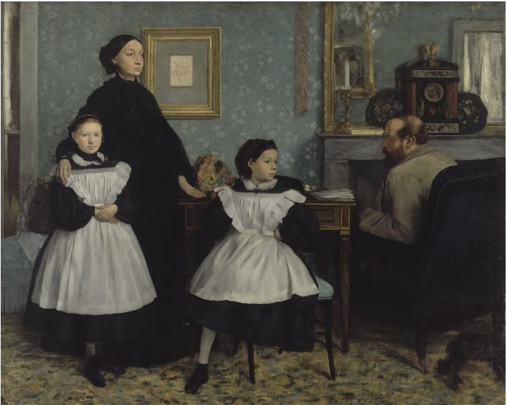 エドガー・ドガ 《ベレッリ家の肖像 La famille Bellelli》