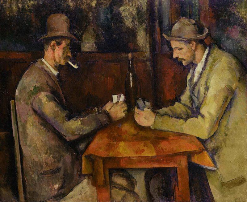 セザンヌ《カード遊びをする人々 Les Joueurs de cartes》オルセー美術館