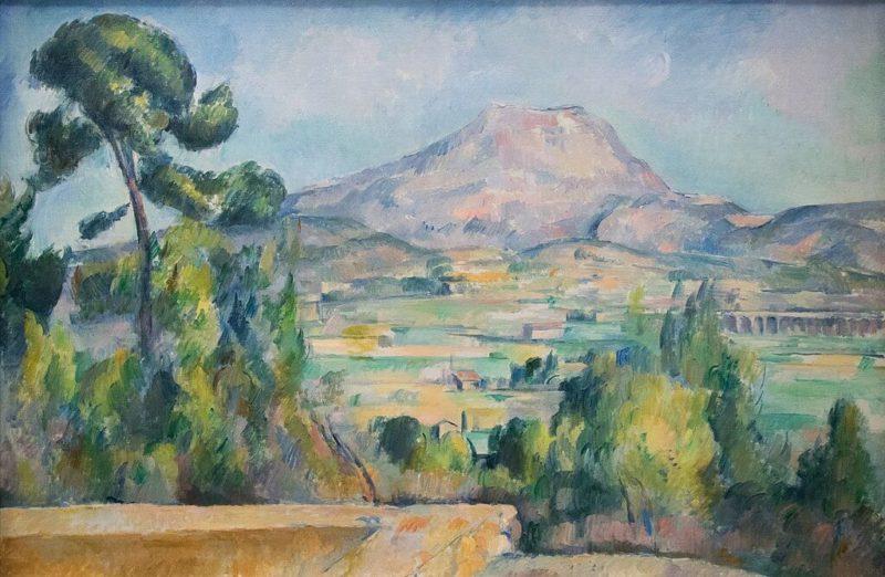 セザンヌ《《サント・ヴィクトワール山 Mont Sainte-Victoire》オルセー美術館