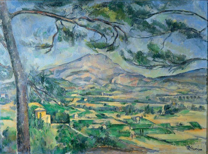 セザンヌ《サント・ヴィクトワール山 Mont Sainte-Victoire》コートールド美術館