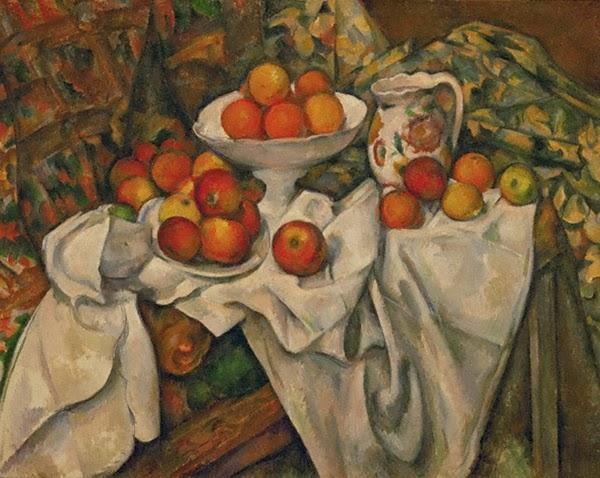 セザンヌ《りんごとオレンジのある静物 Pommes et oranges》オルセー美術館