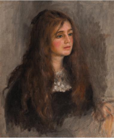 ルノワール《ジュリー・マネの肖像 Portret de Julie Manet》マルモッタン・モネ美術館