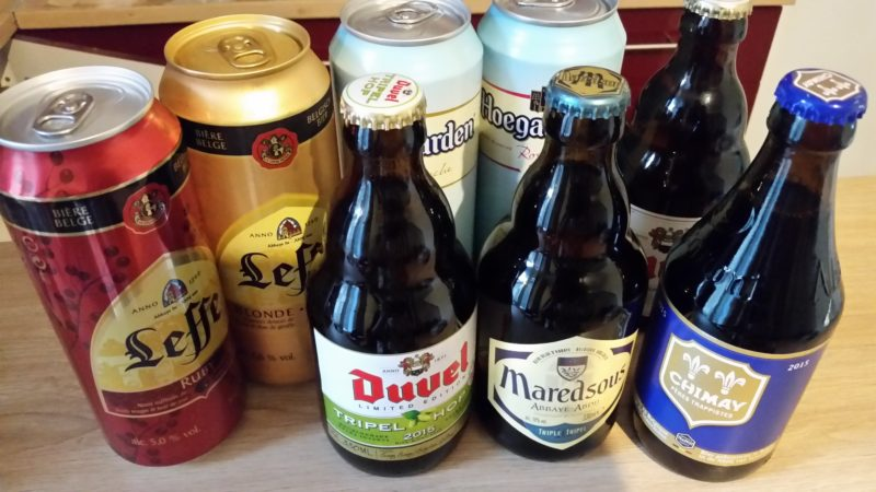 スーパーで買えるベルギービール