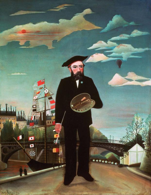 アンリ・ルソー《私自身、肖像=風景 Moi-même, Portrait-paysage》プラハ国立美術館
