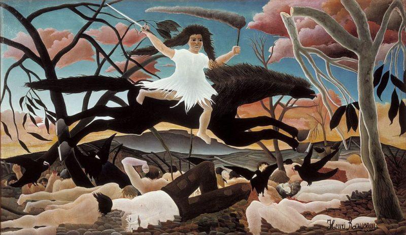 アンリ・ルソー《戦争 La Guerre》オルセー美術館