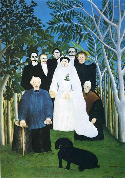 アンリ・ルソー《婚礼》オランジュリー美術館
