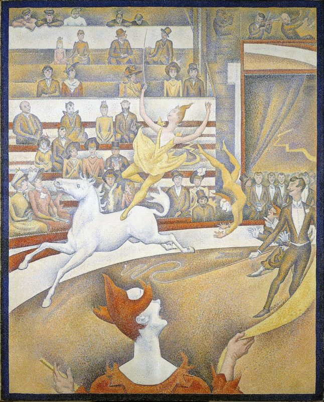 ジョルジュ・スーラ《サーカス Le Cirque 》オルセー美術館