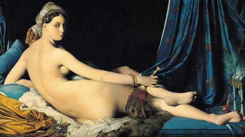 ドミニク・アングル《グランド・オダリスク La Grande Odalisque》ルーブル美術館