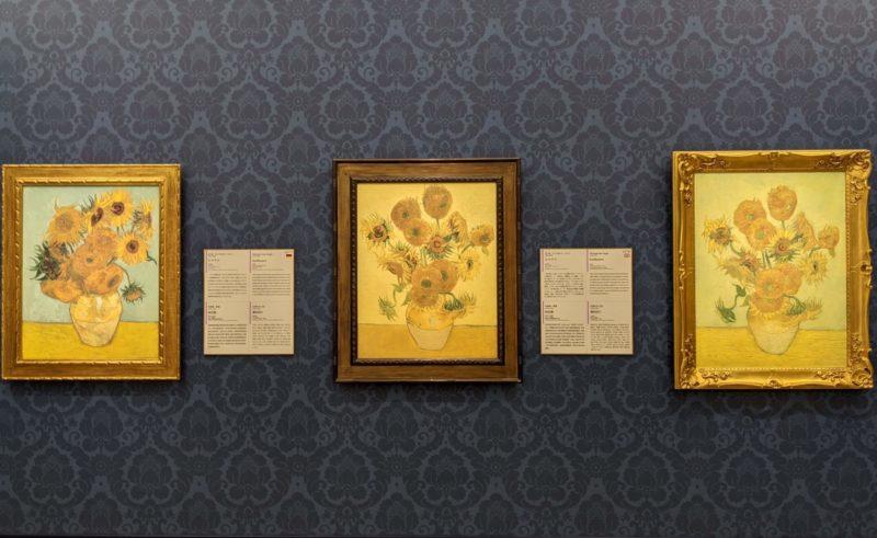 フィンセント・ファン・ゴッホ《ひまわり》大塚国際美術館